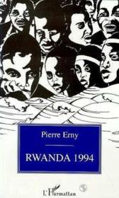 Rwanda, 1994 - Couverture - Format classique