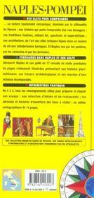 Naples Et Pompei - 4ème de couverture - Format classique