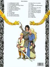 Thorgal T.4 ; La Galère Noire - 4ème de couverture - Format classique