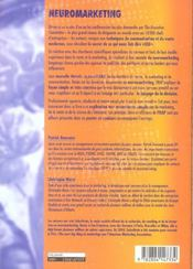 Neuromarketing + Poster - 4ème de couverture - Format classique