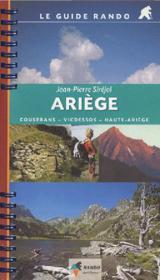 Guide Rando Ariege - Couverture - Format classique