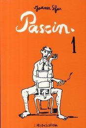 Pascin t.1 - Couverture - Format classique