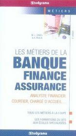 Les métiers de la banque-finance-assurance (4e édition) - Intérieur - Format classique