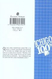 Ichigo 100% t.1 - 4ème de couverture - Format classique