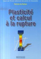 Plasticité et calcul à la rupture - Intérieur - Format classique