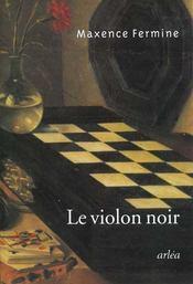 Violon Noir (Le) - Intérieur - Format classique