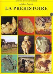 La prehistoire - Intérieur - Format classique