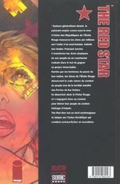 Red Star T.1 - 4ème de couverture - Format classique