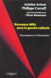 Nouveaux Defis Pour La Gauche Radicale - Intérieur - Format classique