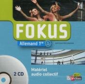 Vente livre :  FOKUS ; allemand ; 1re ; 2 CD audio de la classe  - Collectif