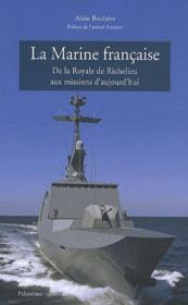 Histoire de la marine francaise - Couverture - Format classique