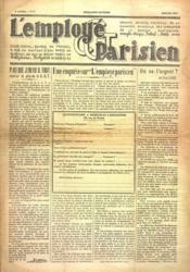 Employe Parisien (L') N°6 du 01/07/1937 - Couverture - Format classique