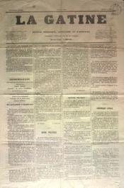 Gatine (La) N°14 du 02/06/1870 - Couverture - Format classique