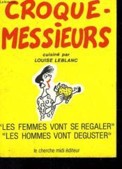 Croque-messieurs - Couverture - Format classique