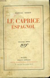 Le Caprice Espagnol. - Couverture - Format classique