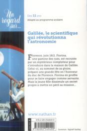 Complot à Florence ; dans l'observatoire de Galilée - 4ème de couverture - Format classique