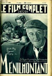 Le Film Complet Du Jeudi N° 1923 - 16e Annee - Menilmontant - Couverture - Format classique