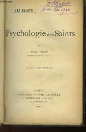 Psychologie Des Saints - Couverture - Format classique