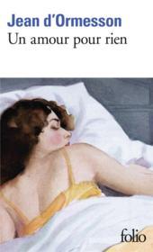Un amour pour rien - Couverture - Format classique