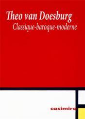 Classique-baroque-moderne - Couverture - Format classique
