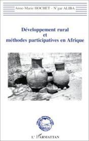 Développement rural et méthodes participatives en Afrique - Couverture - Format classique
