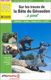 Sur Les Traces Bete Du Gevaudan 2005 -43-48-07-15-Pr-P43a - Couverture - Format classique