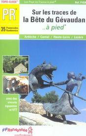 Sur Les Traces Bete Du Gevaudan 2005 -43-48-07-15-Pr-P43a - Intérieur - Format classique