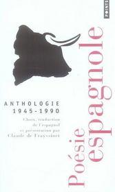 Anthologie 1945-1990 - Intérieur - Format classique