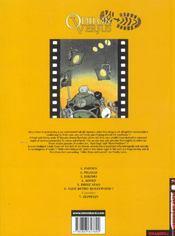 Odilon Verjus t.6 ; vade retro hollywood - 4ème de couverture - Format classique