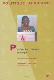 Première dames en Afrique - Couverture - Format classique