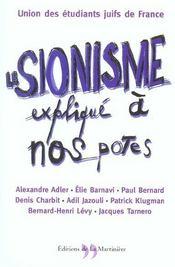 Sionisme Explique A Nos Potes (Le) - Intérieur - Format classique