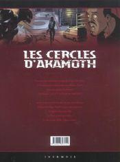Les cercles d'Akamoth t.2 ; la nouvelle alliance - 4ème de couverture - Format classique