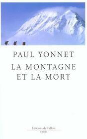 La montagne et la mort - Intérieur - Format classique