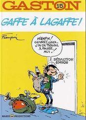 Gaston Lagaffe t.15 ; gaffe à Lagaffe - Intérieur - Format classique