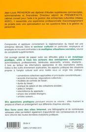 Le Guide De L'Employeur Culturel - 4ème de couverture - Format classique