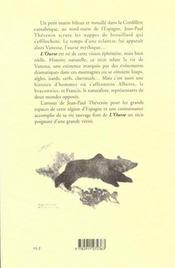 L'ourse - 4ème de couverture - Format classique