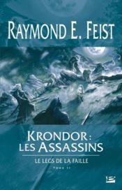 Krondor: les assassins ; le legs de la faille t.2 - Couverture - Format classique