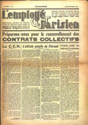 Employe Parisien (L') N°7 du 01/08/1937 - Couverture - Format classique