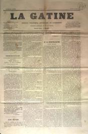 Gatine (La) N°15 du 06/06/1870 - Couverture - Format classique