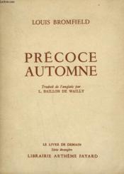 Precoce Automne. Le Livre De Demain N° 21. - Couverture - Format classique