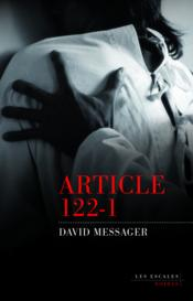 Vente  Article 122-1  - David Messager
