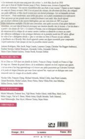 Revue Europe N.1019 ; Max Jacob ; Francois Cheng - 4ème de couverture - Format classique