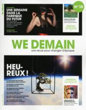 Vente livre :  WE DEMAIN N.10  - We Demain