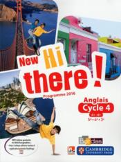 Vente livre :  New hi there! ; anglais ; cycle 4 ; programme 2016  - Collectif - Catherine Winter - Daniel Leclercq