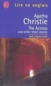 Vente livre :  The actress and other short stories  - Agatha Christie