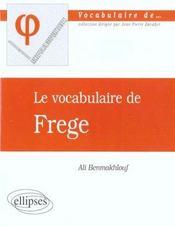 Frege - Intérieur - Format classique