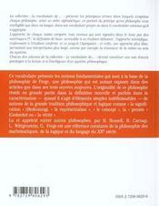 Frege - 4ème de couverture - Format classique