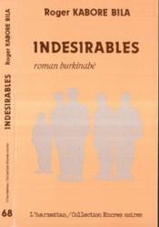 Indesirables - Couverture - Format classique