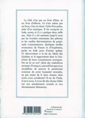 Le baghavad gîtâ - 4ème de couverture - Format classique