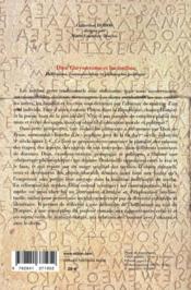 Dion chrysostome et les mythes ; hellénisme, communication et philosophie politique - 4ème de couverture - Format classique